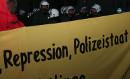 Demonstration gegen Polizeibrutalität in Dessau, 08. Dez 2009