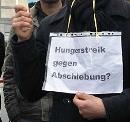 Hungerstreik gegen Abschiebung