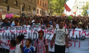 Protest with at least 15 thousand people in Rome