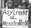 Transparent: Asylrecht ist Menschenrecht
