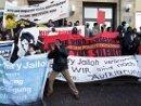 Demonstration in Dessau, 07. Jan 2008