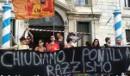 Aktion von Antirassist_innen gegen den Besuch von Salvini in Venedig