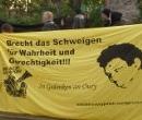 Aktivitäten in Magdeburg in Erinnerung an Oury Jalloh