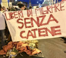 Demonstrationen in Palermo für offene Häfen