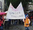 Dennis M. - Unser Freund, Kundgebung in Steyr am 20. Oktober 2007.