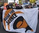 Break The Silence - Demonstration in Dessau, 07. Jan 2008