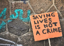 Saving lives is not a crime!