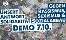 Demonstration: Unsere Antwort Solidarität!
