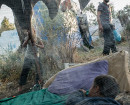 Moria, Griechenland, 11.07.2018: Mehr als 8.000 Menschen - so viele leben im Flüchtlingslager Moria, das ursprünglich für 3.000 Personen ausgerichtet war. Foto: Robin Hammond/Witness Change