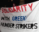 Solidartiy with Greek Hunger Strikers - Vienna, 7th of March 2011