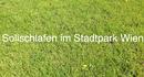 Solischlafen im Stadtpark Wien