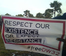Respect our Existence or Expect Resistance!