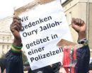 Wir gedenken Oury Jalloh - getötet in einer Polizeizelle