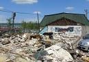 No Border Hostel after the destruction
