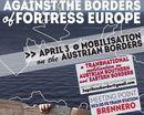 Demonstration gegen die Festung Europa