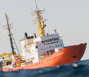 The Aquarius, Rescue Ship in the Mediterranean Sea - Foto: SOS Méditerranée