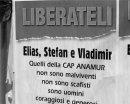 Liberateli - Plakat in Agrigento