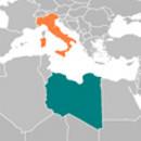 Libya Italy Locator: (cc) Wikimedia Commons