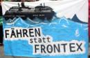 Fähren statt Frontex - Protest in Bern am 25. April 2015