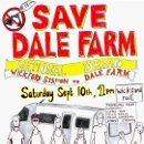 Save Dale Farm - Poster for Demonstration on Sept 10, 2011.