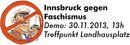 Innsbruck gegen Faschismus 30.11.2013
