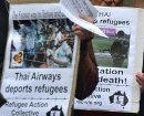 Thai Airways deports Refugees