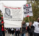 Justice for Jimmy Mubenga, Ralley in London, 19 November 2010