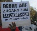 Recht auf Zugang zum Asylverfahren in Österreich