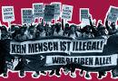 Non-Citizen-Protestmärsche: Kein Mensch ist illegal - Wir bleiben alle! Demonstration am 3. September 2013 in München.