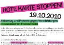 Rote Karte Stoppen! Aktionstag am 19.10.2010 in Wien