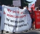 Demonstration in Neuburg/Donau