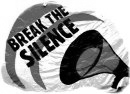 break the silence!
