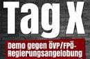 Tag X: Gegen ÖVP-FPÖ-Regierungsangelobung
