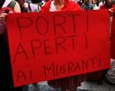 Porti aperti al migranti - Protest in Solidarity with the Aquarius
