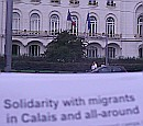 solidarity with migrants in calais and all-around