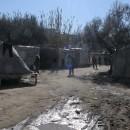 Selforganised camp in Patras, January 2008