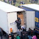 Entering, Calais, 3rd of October 2015