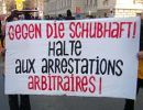 Gegen die Schubhaft - Demonstration in Wien