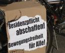 Residenzpflicht abschaffen - Bewegungsfreiheit für Alle!