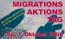 Aufruf zum transnationalen Migrationsaktionstag am 7. Oktober 2006