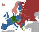 Gesetzeslagen in Europa