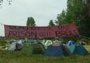 Noborders campsite, Calais, June 2009