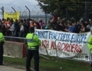 Demonstration outside Tinsley House immigration prison