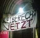 Symbolische Besetzung des zürcher Grossmünster, 19. Dezember 2007