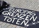 Europas Grenzen töten - Protest in Braunschweig am 23. Apr 2016.