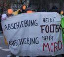 Spontandemonstration gegen Abschiebehaft, Hamburg, 16. April 2010