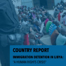 GDP Report: Immigration Detention in Libya - Cover
