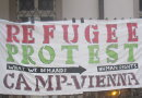 Refugee Protest Camp Vienna demands human rights