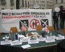 Alternativer Minister_innenrat gegen die Verschärfung des Asylrechts, 19. Oktober 2010, Ballhausplatz, Wien