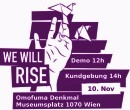 We will rise!